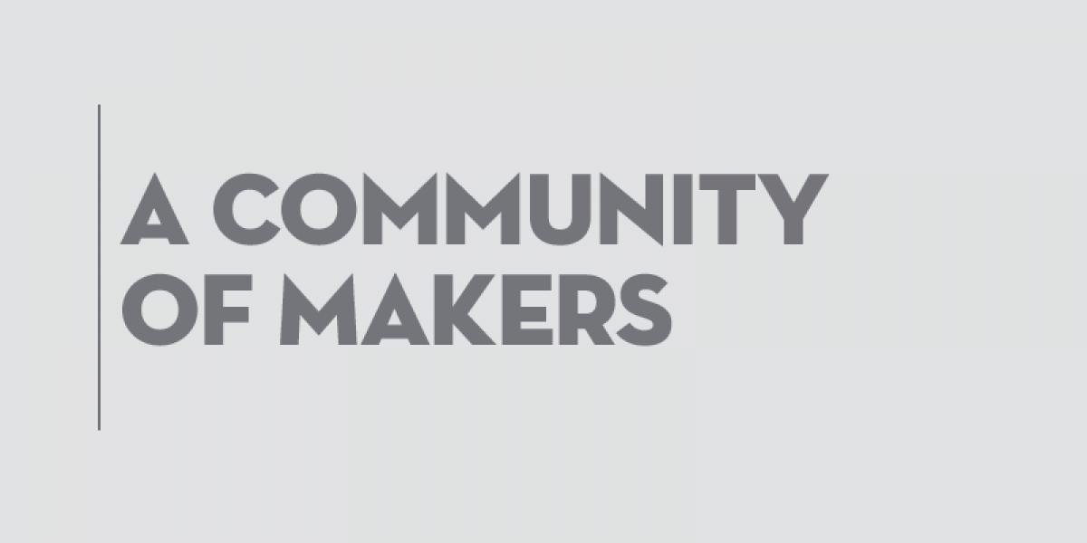 A community of makers img