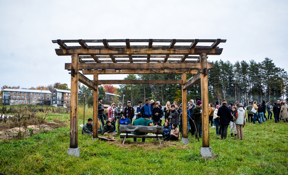 Sacred space gathering